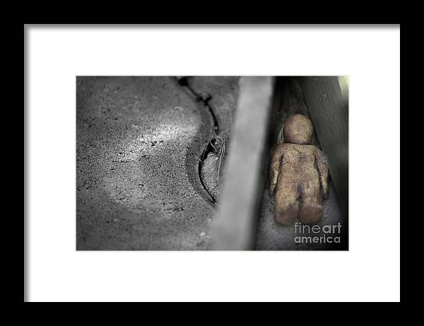 Life Framed Print featuring the photograph Lifes Little Boxes by The Stone Age