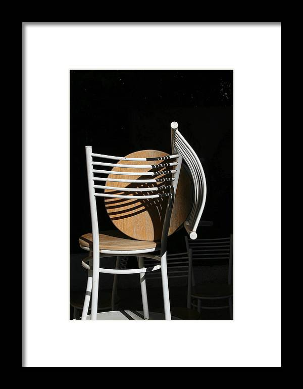 Framed Print featuring the photograph Light And Shadow by Adeeb Atwan