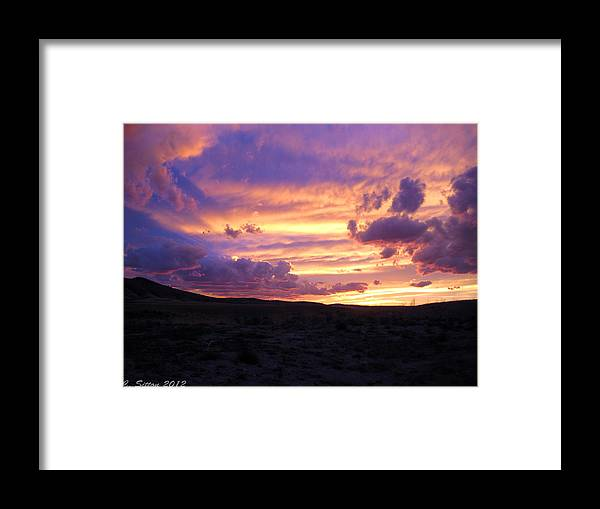 Country Photographs Framed Print featuring the photograph Light At The End Of The Day by C Sitton