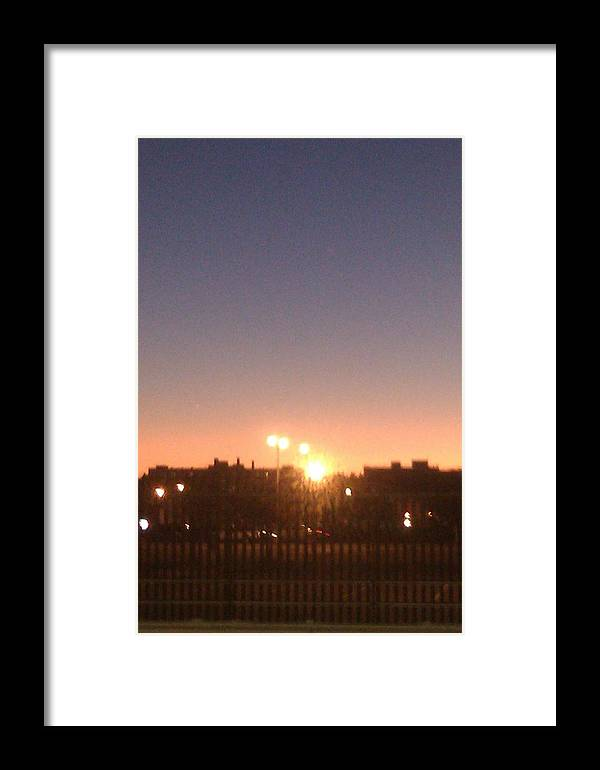 Colors Framed Print featuring the photograph Lights by ClockWork Rockawn