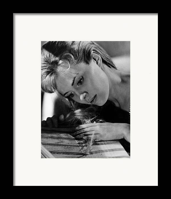 1964 Movies Framed Print featuring the photograph Lilith, Jean Seberg, 1964. Csu by Everett