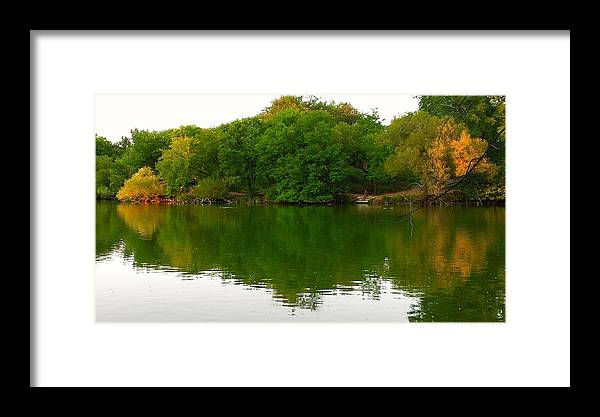 Chicago Framed Print featuring the photograph Lincoln Park North Pond In Chicago by Steven Cull