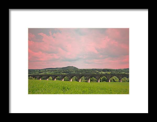 Linlithgow Bridge Framed Print featuring the photograph Linlithgow Bridge by Kevin Askew