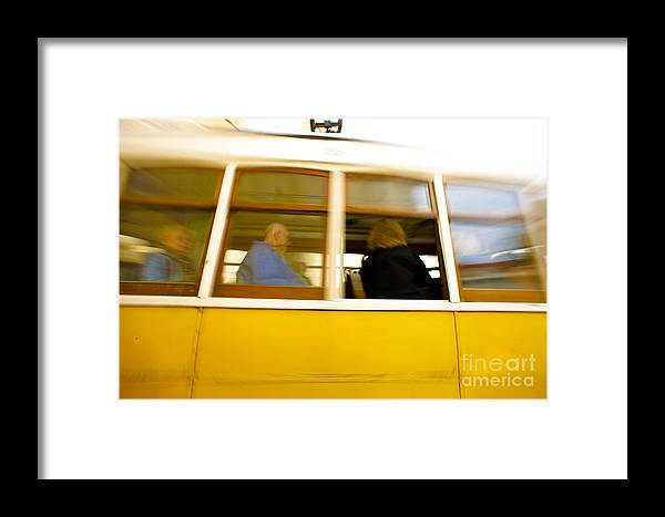Electrico 28 Framed Print featuring the photograph Lisbon by Andre Poling