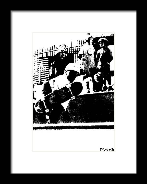 Framed Print featuring the photograph Little Air Time by Douglas Kriezel
