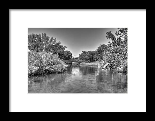 River Framed Print featuring the photograph Little River by Armando Perez