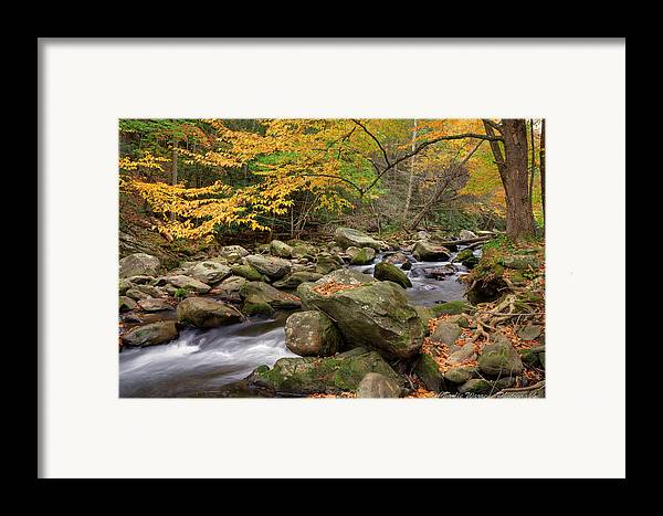 Great Smoky Mountains Framed Print featuring the photograph Little River I by Charles Warren