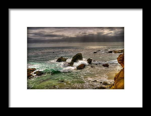 Beach Framed Print featuring the photograph Living by Craig Incardone