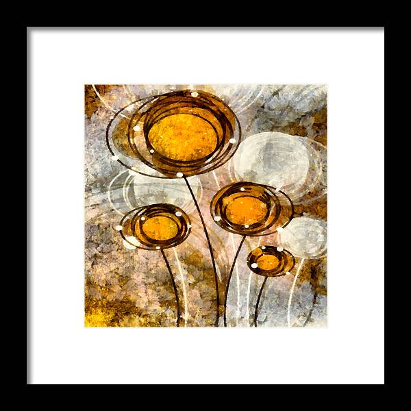 Lolli Framed Print featuring the mixed media Lollipop 1 by Angelina Vick