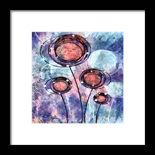Lolli Framed Print featuring the mixed media Lollipop 2 by Angelina Vick