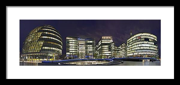 London Framed Print featuring the photograph London Riverside by Travel Images Worldwide