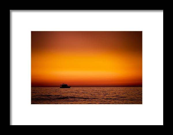 Waters Framed Print featuring the photograph Lonely Pilgrim by Andrey Ospishchev