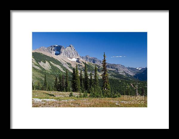 Big Sky Country Framed Print featuring the photograph Looking Back by Katie LaSalle-Lowery
