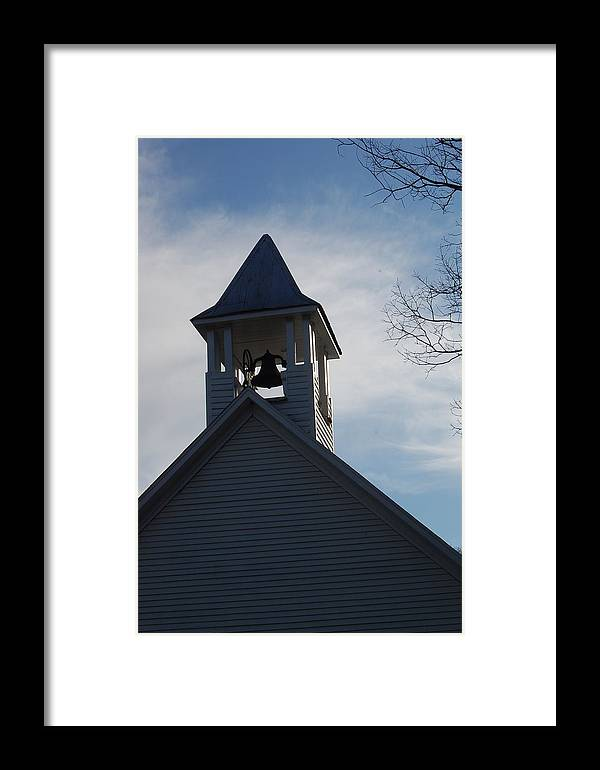 Church Framed Print featuring the photograph Looking Up by Tim Hall