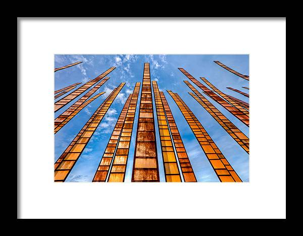 Seattle Framed Print featuring the photograph Looking Up by Tommy Farnsworth