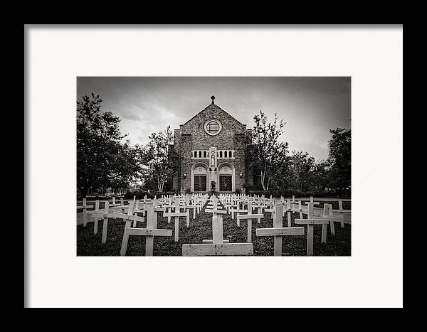 Scary Framed Print featuring the photograph Lord Knows by Pixel Perfect by Michael Moore