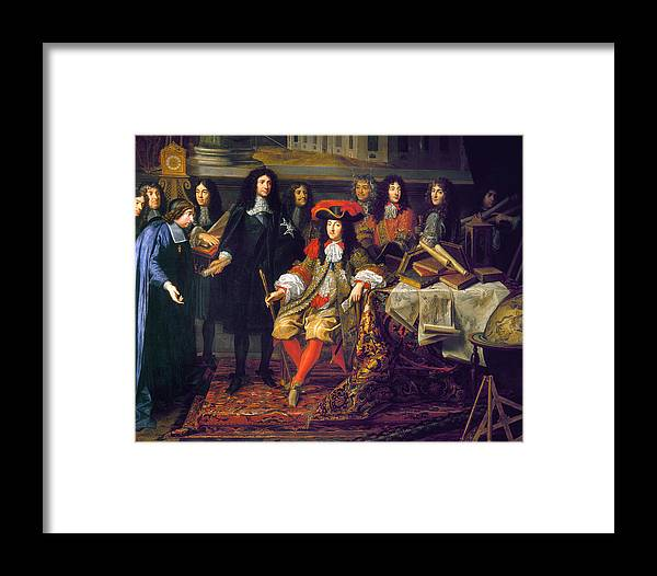 1666 Framed Print featuring the photograph Louis Xiv (1638-1715) by Granger