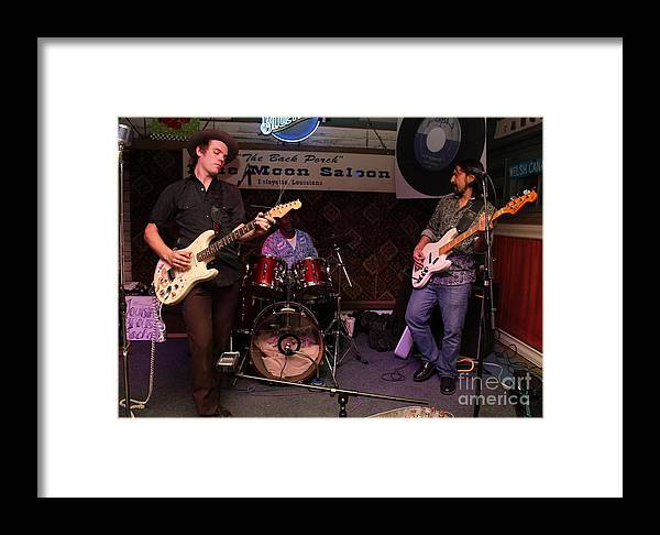 Framed Print featuring the photograph Louisiana House Rockers 03 by Mark Guillory
