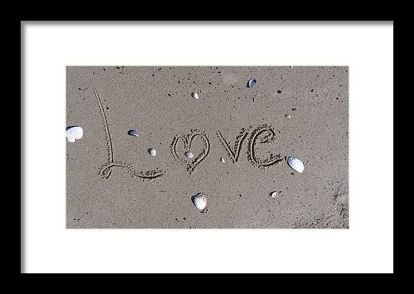 Amor Framed Print featuring the photograph Love by Jessica Cruz