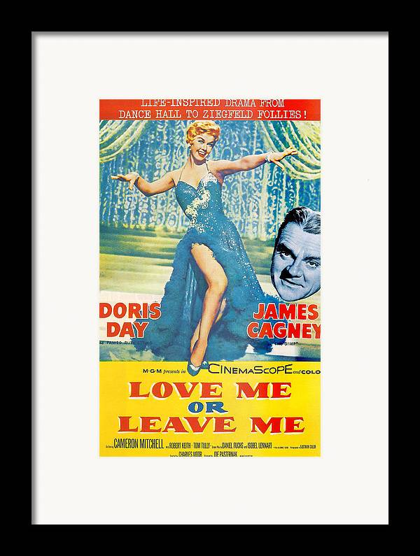 Love Me Or Leave Me Framed Print featuring the photograph Love Me Or Leave Me by Georgia Fowler