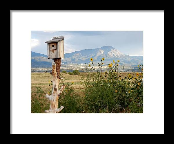 Mountains Framed Print featuring the photograph Lovely Splendor by Sharon Farris