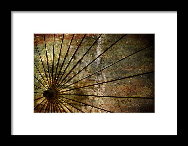 Abstract Framed Print featuring the photograph Luminescence by Elizabeth Wilson
