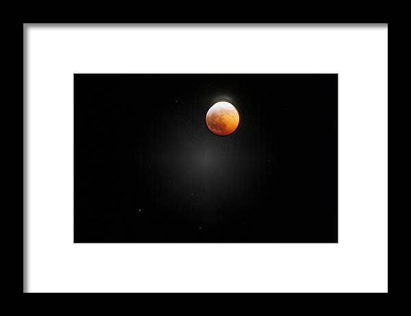 Moon Framed Print featuring the photograph LuNA by Elizabeth Alamillo