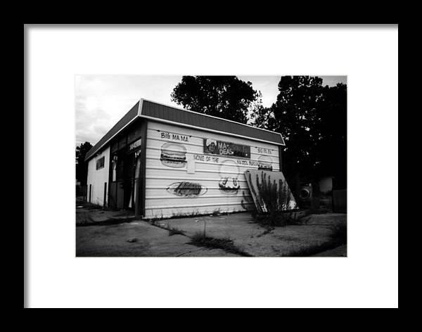 Louisiana Framed Print featuring the photograph Ma Deas Soul Food Grill by Doug Duffey