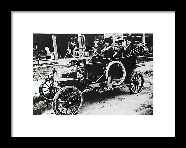 Madam C. J. Walker Framed Print featuring the photograph Madam C. J. Walker, Us Businesswoman by Schomburg Center For Research In Black Culturenew York Public Library