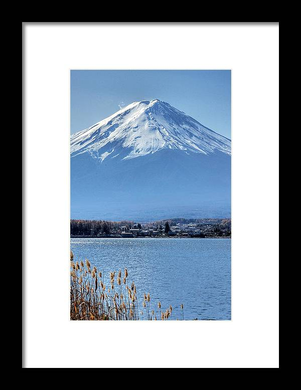 Mountain Framed Print featuring the photograph Magnificent Mt Fuji by Kean Poh Chua