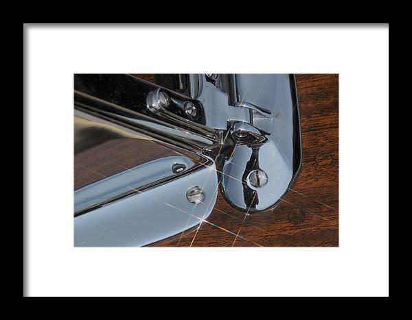 Mahogany Framed Print featuring the photograph Mahogany And Chrome by Steven Lapkin