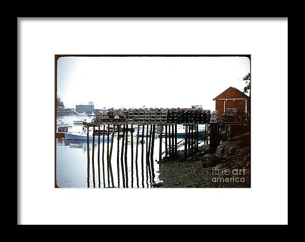 Landscape Framed Print featuring the photograph Maine Circa 1984 by Douglas Shoop