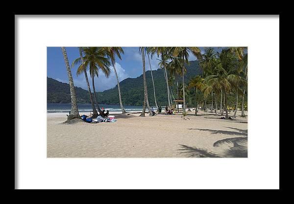 Beach Framed Print featuring the photograph Maracas On A Monday by Pradeep Latchman