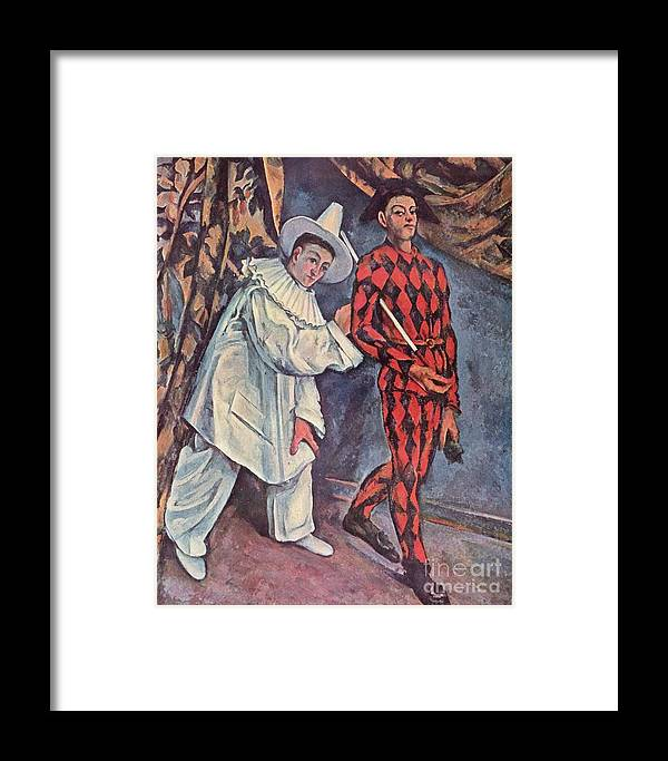 Cezanne Framed Print featuring the painting Mardi Gras by Extrospection Art