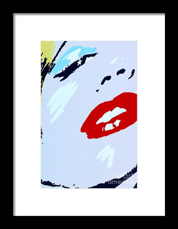 Vertical Framed Print featuring the photograph Marilyn Monroe 2 by Micah May