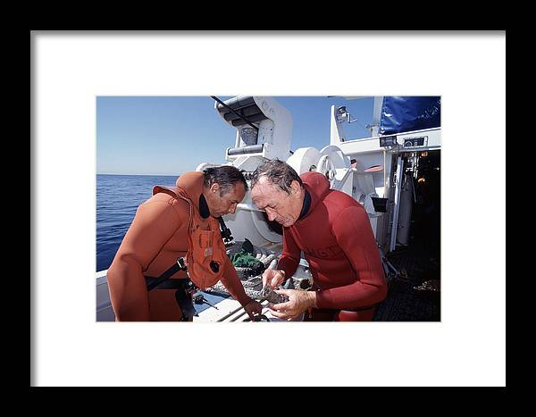 Archaeology Framed Print featuring the photograph Marine Archaeology by Alexis Rosenfeld