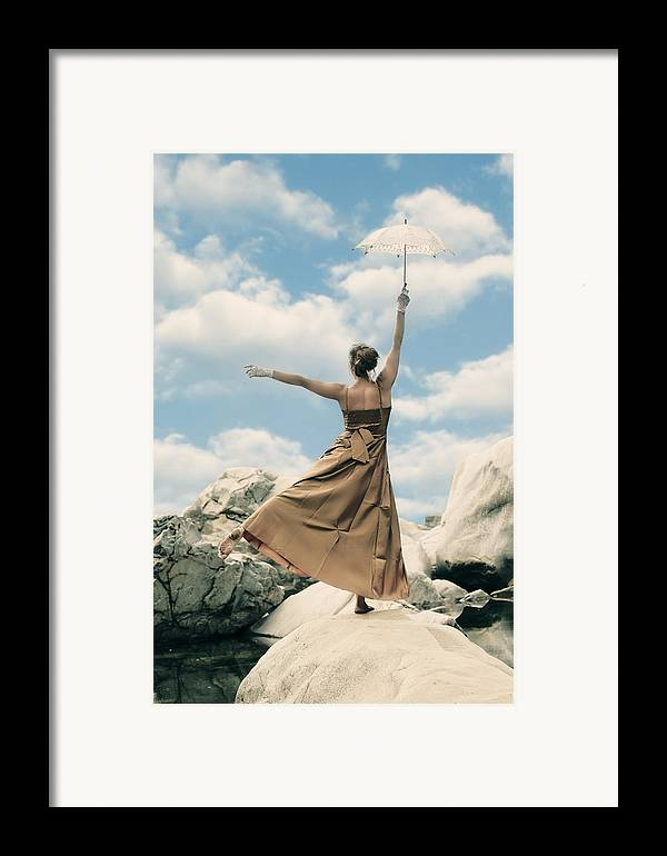 Female Framed Print featuring the photograph Mary Poppins by Joana Kruse