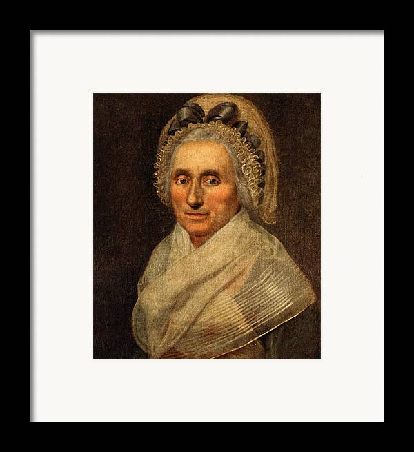 mary Washington Framed Print featuring the photograph Mary Washington - First Lady by International Images
