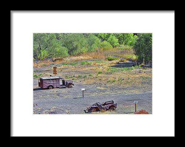 Truck Framed Print featuring the photograph M.a.s.h Property 2 by Jason Abando