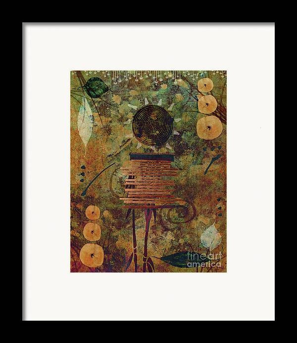 photo Manipulation Prints Framed Print featuring the photograph Maskerade by Aimelle