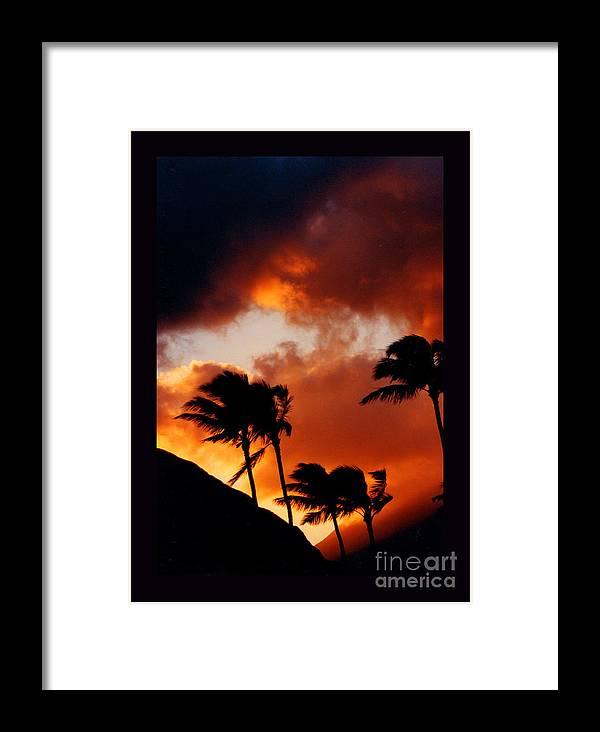 Maui Framed Print featuring the photograph Maui Breeze by Susanne Still
