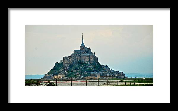 Mont St. Michel Framed Print featuring the photograph Medieval Wonder by Eric Tressler