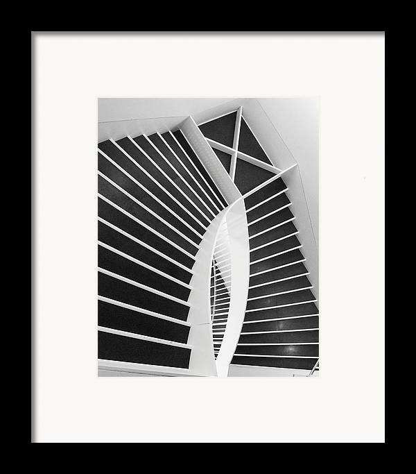 Stairs Framed Print featuring the photograph Meet Me Under The Stairs by Anna Villarreal Garbis