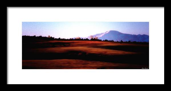Parker Colorado Framed Print featuring the photograph Mesa Morning by Glenn Gemmell