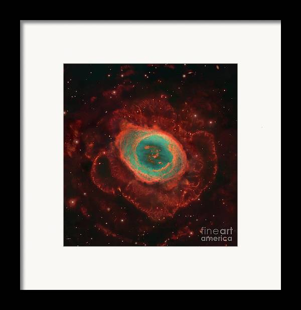Awe Framed Print featuring the photograph Messier 57, The Ring Nebula by Robert Gendler