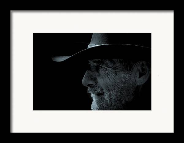 Cowboys Framed Print featuring the photograph Midnight Cowboy by Christine Till