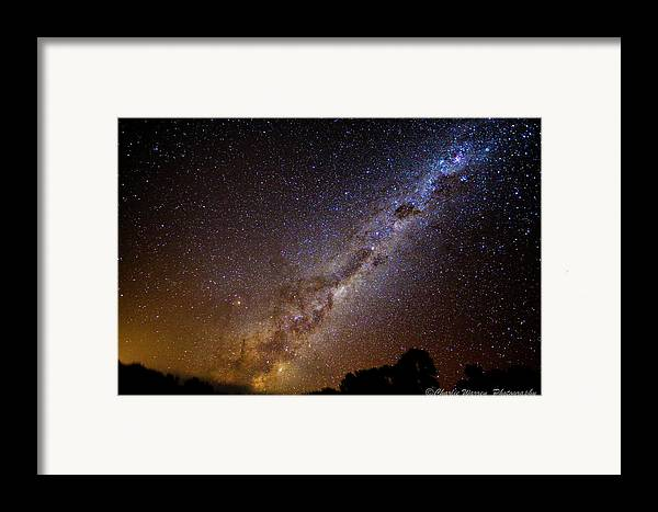 Astro Images Framed Print featuring the photograph Milky Way Down Under by Charles Warren