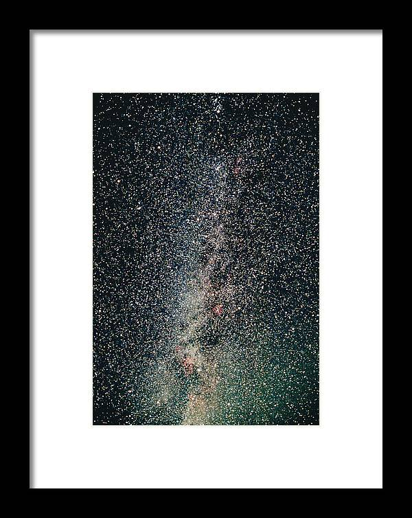 Milky Way Framed Print featuring the photograph Milky Way by John Sanford