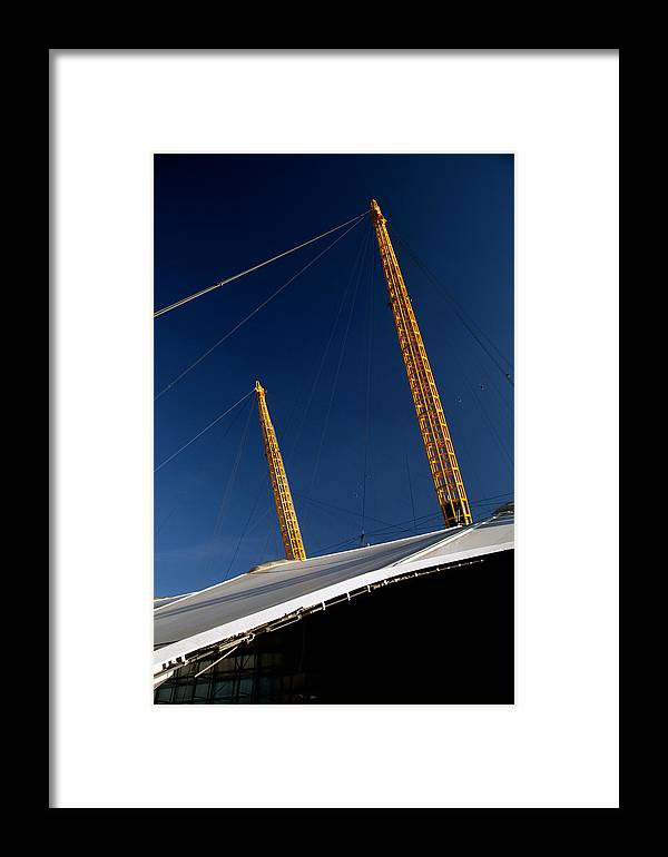 Jezcself Framed Print featuring the photograph Millenium Failure by Jez C Self