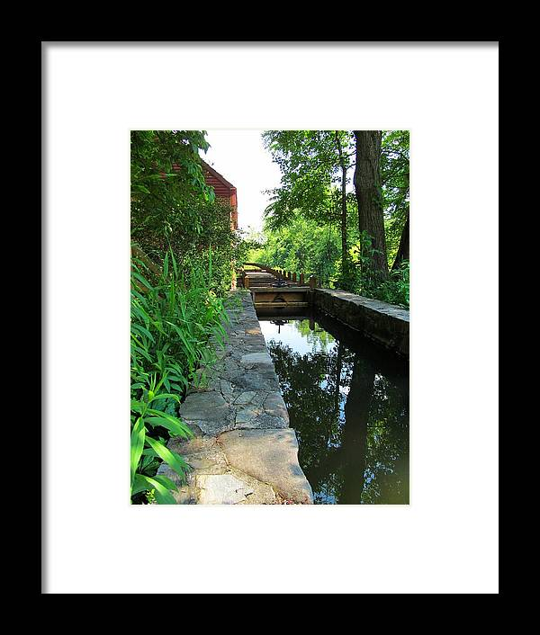Sluice Framed Print featuring the photograph Miller Tyme by Phil Cappiali Jr